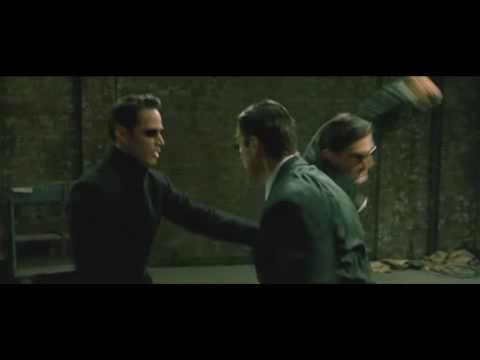 The Matrix Reloaded - Neo vs Three Agents