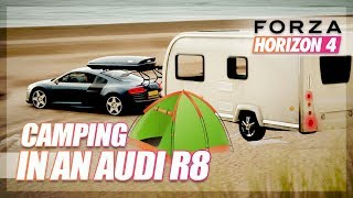 Forza Horizon 4 - Camping in an Audi R8! (Off-Road RoadTrip)