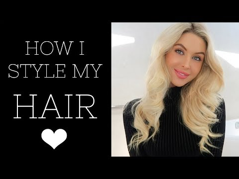HOW I STYLE MY HAIR | Quick + Easy Soft Curls