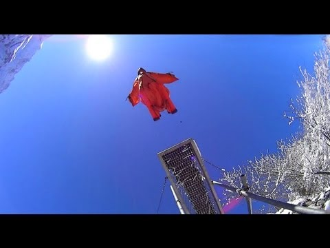 Epic Base Jumping Video: Donald Schultz & Stunt Inc. Team Wingsuit in Switzerland