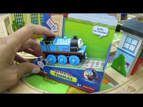 Talking Thomas Wooden Railway NEW for 2013! Thomas & Friends