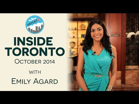 Toronto Travel Guide   October 2014 - Nuit Blanche,  Toronto Oktoberfest and Edgewalk!