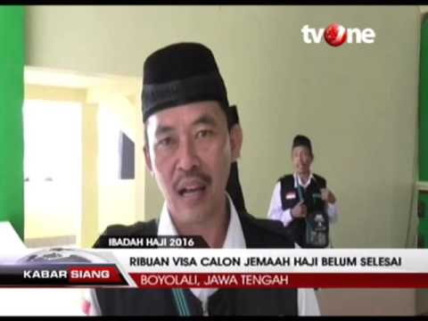 Video info haji embarkasi solo