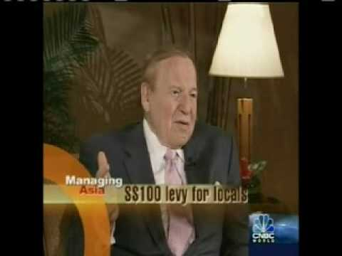 Las Vegas Sands CEO Sheldon Adelson's Singapore interview - Part 1