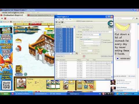 Tutorial Cheat Engine 6.2 Facebook Games Deutsch Videos 4 Share