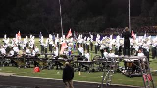 Fossil Ridge & CSU Marching Band at Regional Competition 2015