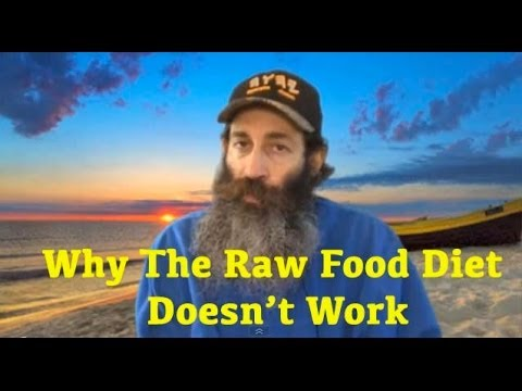 Why The Raw Food Diet Doesn't Work