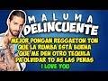 Maluma   Delincuente (Letra)
