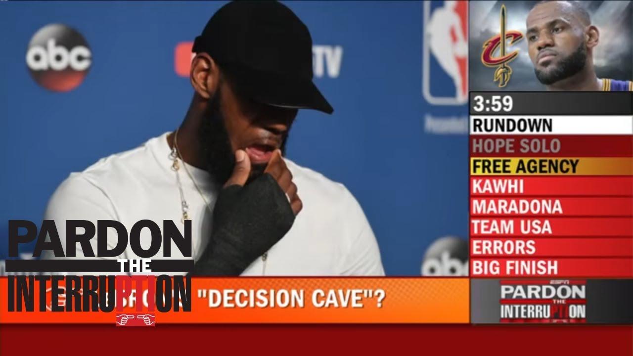 LeBron's 'Decision Cave': Brian Windhorst answers the questions | Pardon the Interruption | ESPN