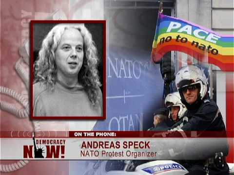 After G20, Mass Protests Await Obama at NATO Meeting. Democracy Now 4/2/09 2 of 3