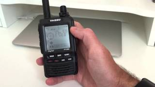 Yaesu FT2D arrives in UK - First Look