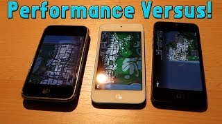 San Andreas Performance : iPhone 5 vs iPhone 4S vs iPhone 3GS !
