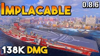 Implacable: Worst Tier 8 CV - World Of Warships