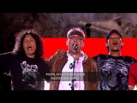 Lagu Indonesia Raya 3 Stanza Menjadi Pembukaan Konser Nyanyian Raya - Net24 video
