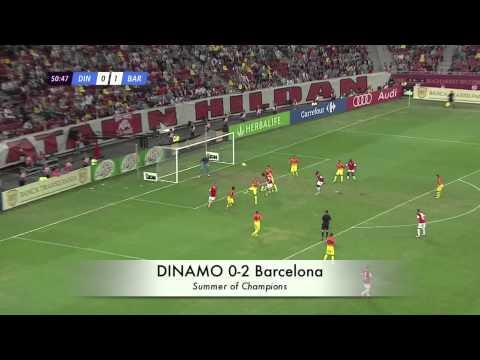 Summer of Champions :: DINAMO 0-2 Barcelona (HD ~ 1080p)
