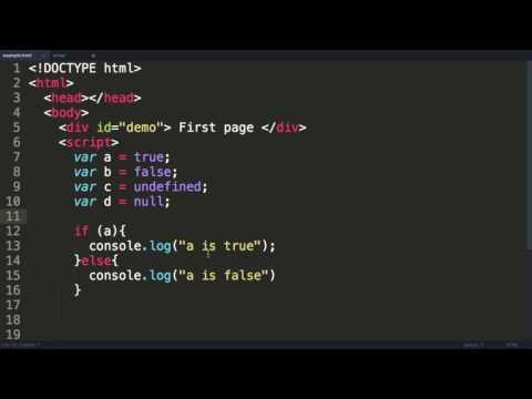 Javascript Tutorial 5  Arrays & Booleans