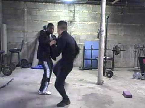 Free Moving Sparring Demo #1: Davin and Freddie 3 videos (Freddie's Modern Kung Fu 2010) Video