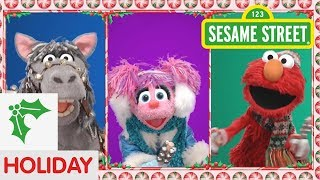 Sesame Street: Elmo and Friends Sing Jingle Bells | Christmas Songs