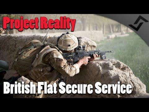 Project Reality - British Flat Secure Service - Close Quarters Combat