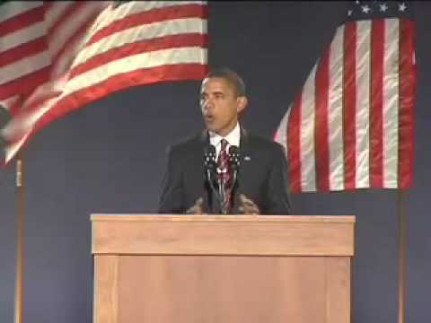 President-Elect Barack Obama in Chicago Video