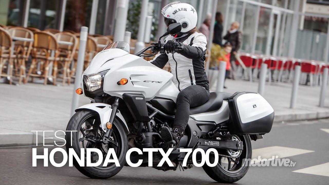 TEST   HONDA CTX 700 : Custom balade ou Commuter branché ? - YouTube