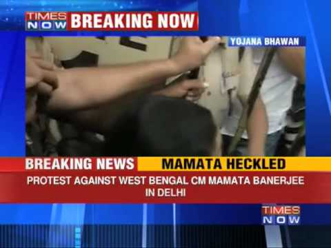 Heckled in New Delhi, backlash in West Bengal