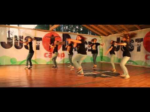 Хип-хоп хорео - летний танцевальный лагерь JDC от ДэнсМастерс 2014
