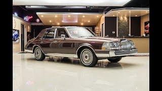 1987 Lincoln Continential For Sale