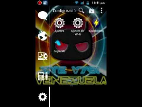 Z-TE V791: Nueva rom VenezuelaFull v2.0 -Review-