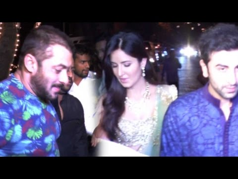 Salman Khan, Katrina Kaif And Ranbir Kapoor Celebrate Diwali Together