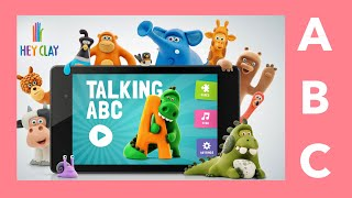 Learn ABC Talking ABC | English by Hey-Clay.com Kids apps Demo