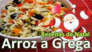 Arroz à Grega | Receitas de Natal #06