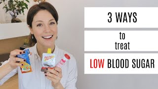 3 Ways To Treat Low Blood Sugar   She's Diabetic
