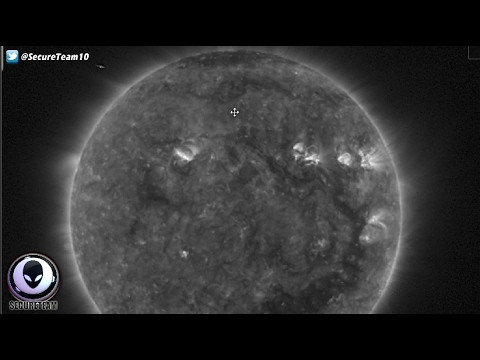 MASSIVE Unknown Object Visits The Sun 2/4/17