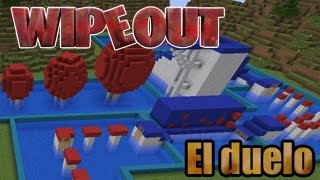 DUELO WIPEOUT MINECRAFT - Con InuyaJuega