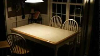 Poltergeist Caught on Tape Moving Kitchen Chairs