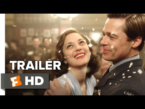 Allied Official Trailer 1 (2016) - Brad Pitt Movie streaming vf