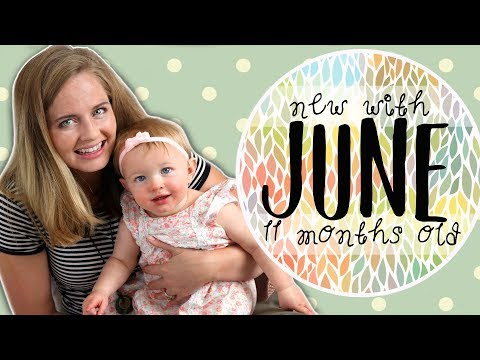 ADORABLE SINGING BABY! 11 Month Update   New with June