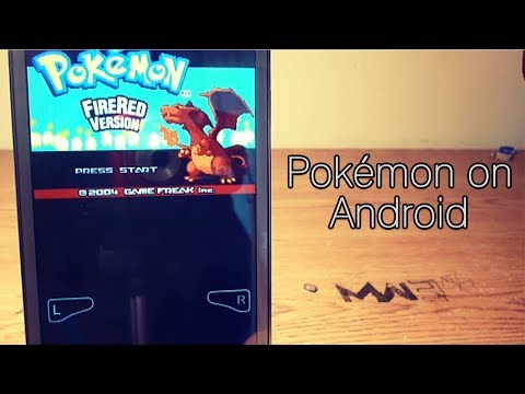 Pokémon On Android - GBA Emulator (My Boy! FREE)