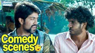 Raja Huli Kannada Comedy - Scene 1 - Yash, Chikanna