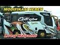 Modifikasi Bus Paling Keren,,, Livery Po Haryanto Cristal Element Nih   Kayak Mi