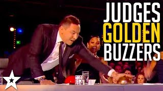 Best GOLDEN BUZZER Moments on Britain's Got Talent Part 2 | Got Talent Global