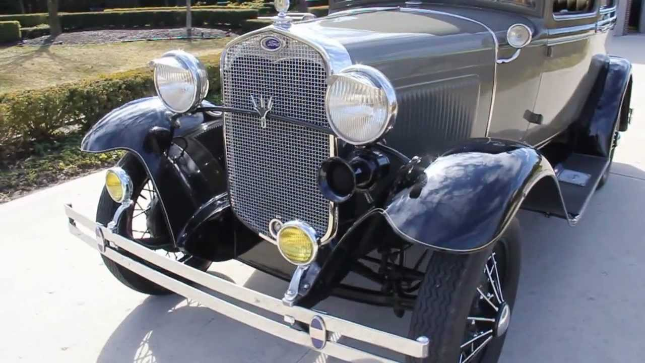 1930 ford model a classic muscle car for sale in mi vanguard motor sales youtube Ford motor auto sales