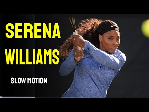 Serena Williams Slow Motion