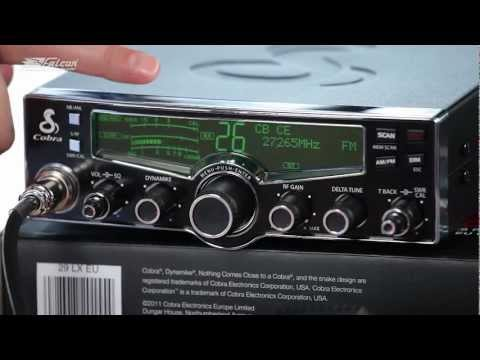 CB radio Cobra 29 LX EU