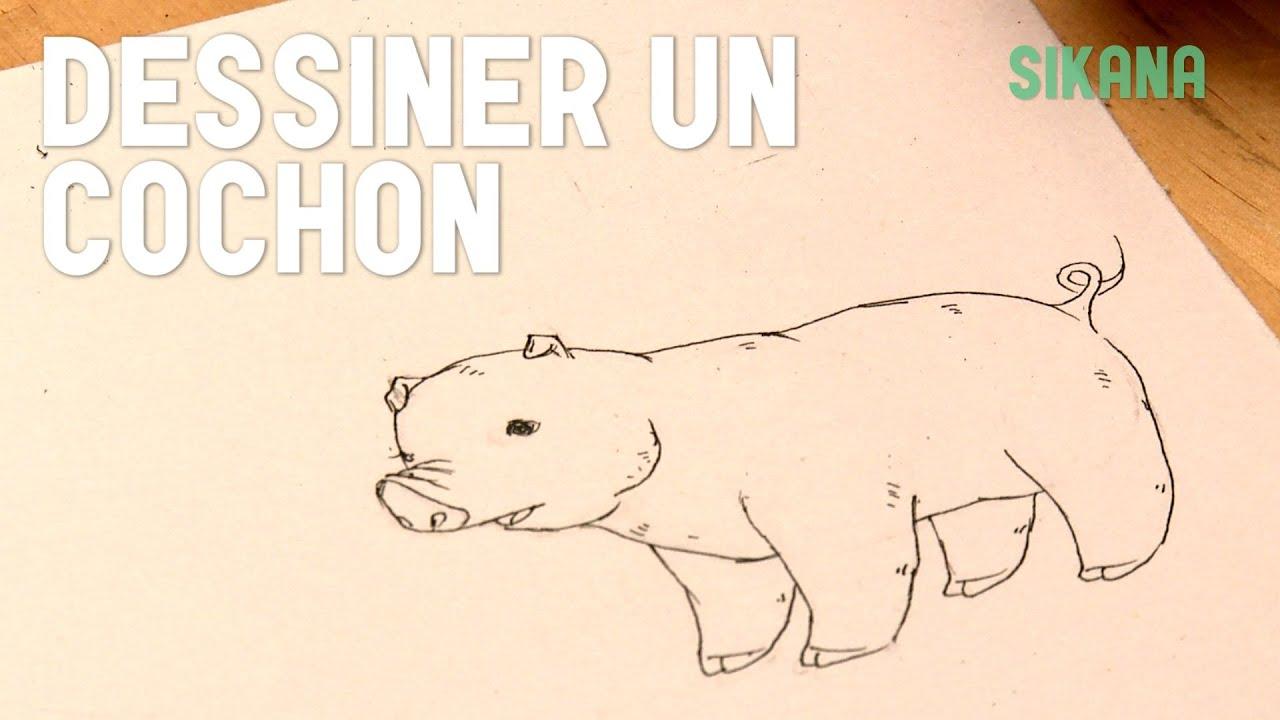 Dessin dessiner un cochon facilement hd youtube - Cochon a dessiner ...