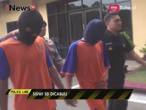 Biadab!! Perkosa Siswi SD Hingga Melahirkan, 2 dari 5 Orang di Tangkap Polisi - Police Line 28/09