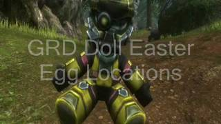 Halo Reach_ All GRD Doll Easter Egg Locations
