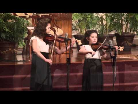 Christmas Carol Medley given by Autumn Arsenault and Abby Arsenault