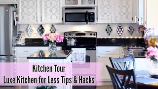 (8.65 MB) 💖 Glam Home 💖 Kitchen Tour | Luxe Kitchen for Less Tips & Hacks Mp3